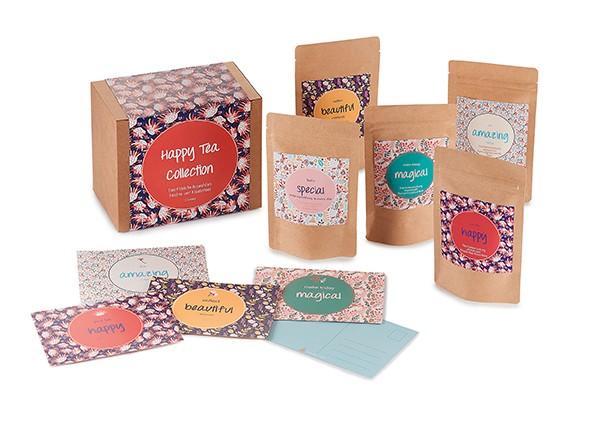 Geschenkbox Happy Tea Collection