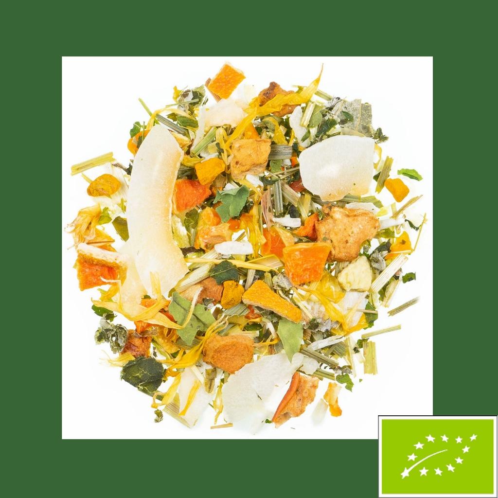 Venezianischer Engel Kräutertee Orange-Vanille Bio DE-ÖKO 022