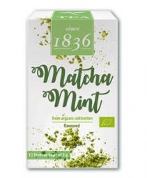 Grüner Pulver-Tee China k.b.A. Matcha Mint,