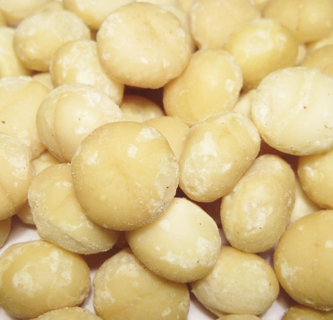 Macadamia Kerne unbehandelt