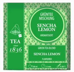 Grünteemischung Sencha Lemon aromatisiert