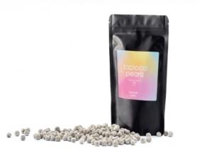 Schwarze Tapiokaperlen Instant Stärke-Perlen aus Maniokwurzel Durchmesser 250g