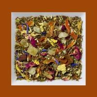 Roibusch Mangostane-Kombucha Aromatisierte grüne Rooibusch-Tee-/Früchtemischung