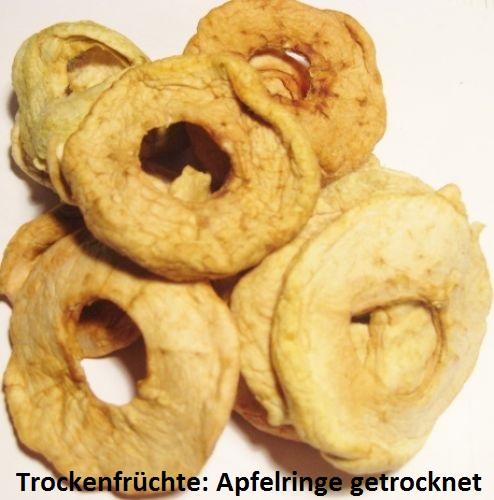 Apfelringe - ungeschwefelt