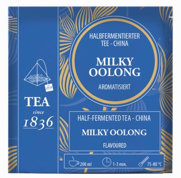 Milky Oolong Halbfermentierter Tee China aromatisiert