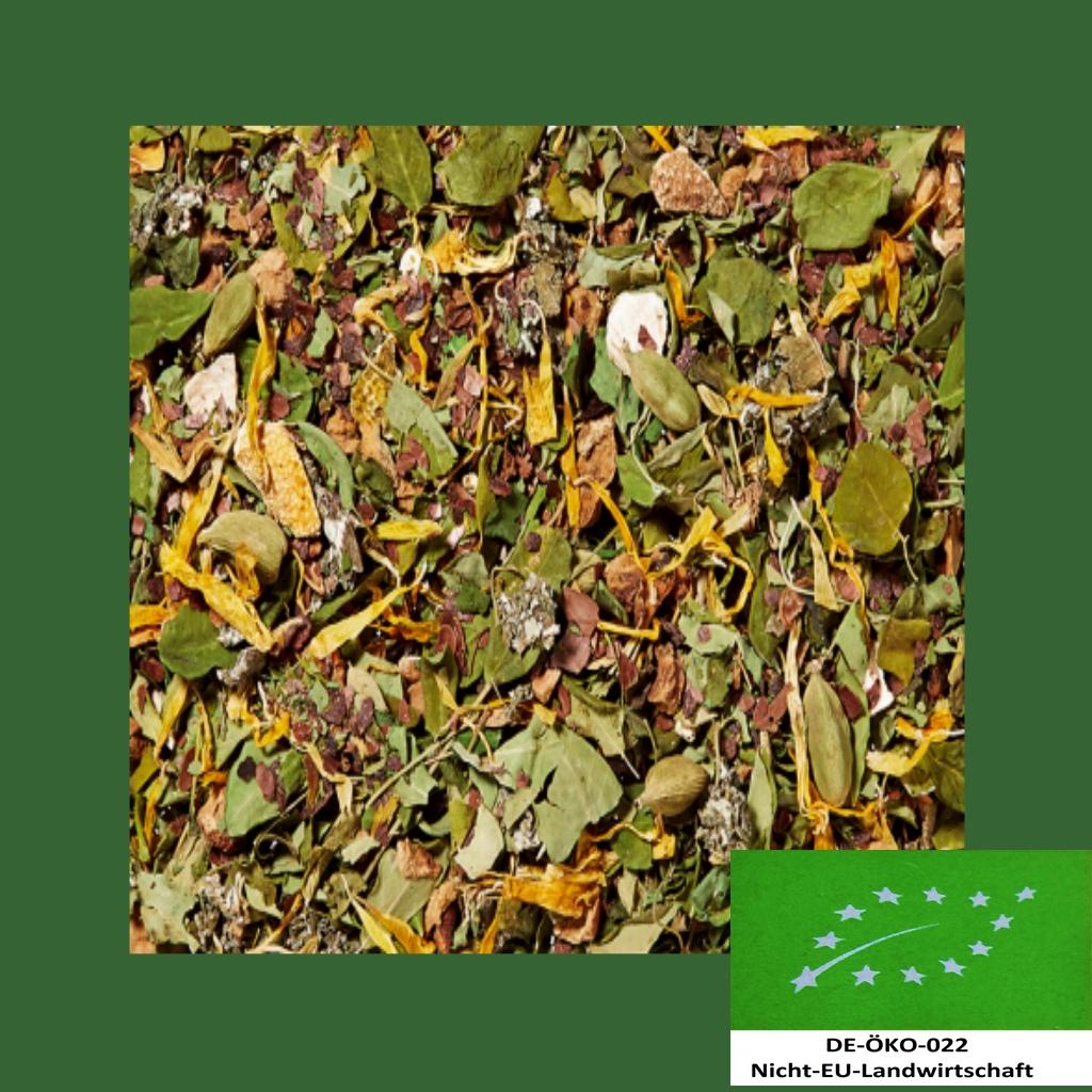 Winterkräuter, Vanille-Orange Bio Kräuterteemischung DE-ÖKO-022
