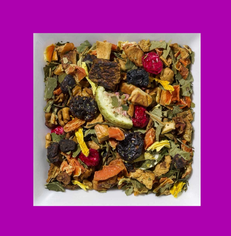 Feige-Birne-Aprikose aromatisierte Früchteteemischung