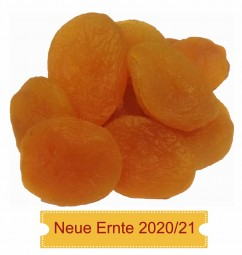 Aprikosen Premium getrocknet, geschwefelt Originalkarton 5kg