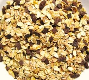 Schoko-Müsli ohne Rosinen