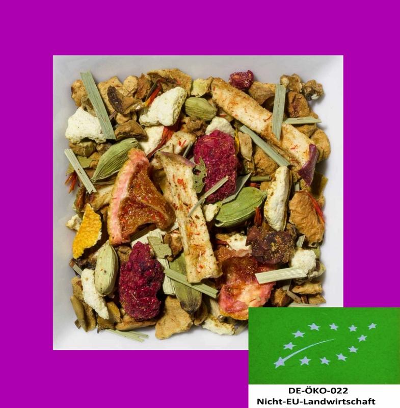 Marillenblüte--Honig Biotee DE-ÖKO-022 aromatisierte Früchteteemischung