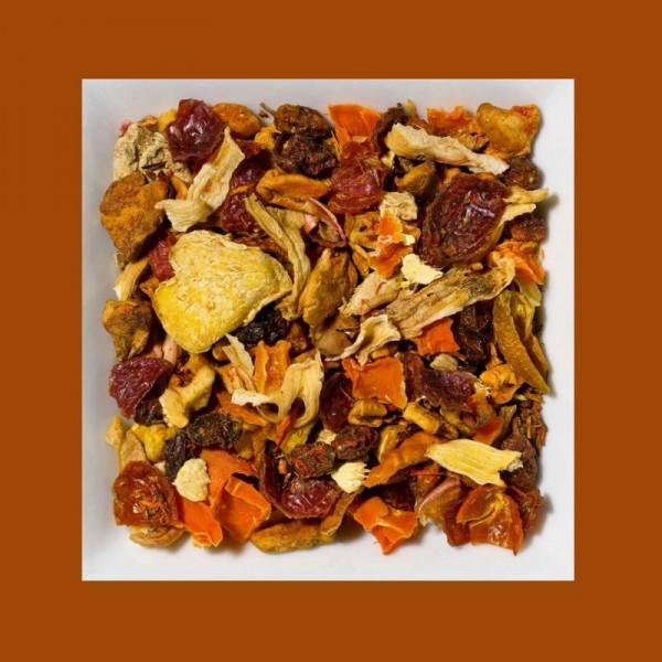Rooibusch Sanddorn-Ingwer aromatisierte Früchte-/Rooibusch-Teemischung